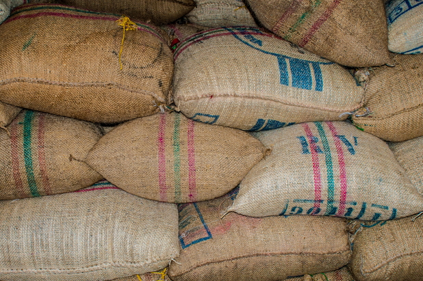 Kaffee Depot in Brasilien.
